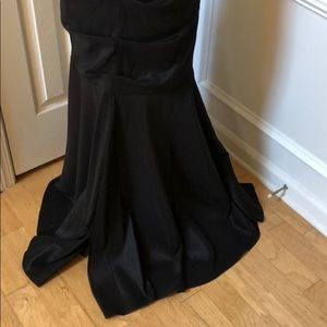 Hailey Logan Dresses - Black and Red Formal Gown